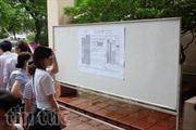 Thí sinh vẫn còn sai sót khi làm hồ sơ đăng ký dự thi