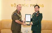 Tổng Tham mưu trưởng tiếp Tư lệnh Lục quân New Zealand