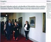 Chuyến thăm của Chủ tịch Quốc hội Việt Nam nhìn từ phía Séc