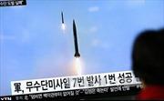 Triều Tiên thử tên lửa thất bại, Mỹ chưa tính hành động quân sự