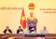 Thông cáo phiên họp thứ 9 của Ủy ban Thường vụ Quốc hội khóa XIV