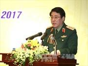 Thượng tướng Lương Cường tiếp Chính ủy Hải quân Trung Quốc