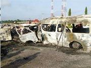Nigeria: Hai xe buýt đối đầu, bốc cháy, ít nhất 26 người thiệt mạng