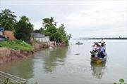 Lo ngại các vụ sạt lở bờ sông Tiền tại Đồng Tháp