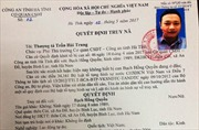 Truy nã toàn quốc đối tượng cầm đầu vụ kích động gây rối tại Lộc Hà (Hà Tĩnh)