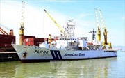 Tàu lực lượng bảo vệ bờ biển Nhật Bản cập cảng Tiên Sa thăm Đà Nẵng