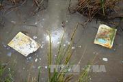 Phú Yên tạm đình chỉ hoạt động cơ sở gia công phế liệu xả thải gây ô nhiễm nước