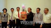 Chủ tịch Ủy ban Trung ương Mặt trận Tổ quốc Việt Nam thăm các chức sắc tôn giáo