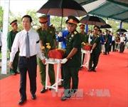 Truy điệu trọng thể liệt sĩ hi sinh trong trận đánh vào sân bay Biên Hòa năm 1968