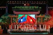 Dạ hội thanh niên quân đội Việt-Lào 'Chung dãy Trường Sơn - Thắm tình đồng chí'