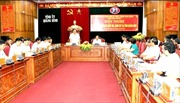 Ban chỉ đạo Trung ương về phòng chống tham những làm việc tại Quảng Bình