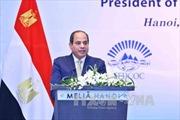 Tổng thống Ai Cập kết thúc chuyến thăm Việt Nam