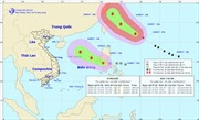 Bão Talim đổi hướng liên tục, áp thấp nhiệt đới mạnh lên thành bão trong 24 giờ tới