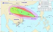 Bão số 10 ngày càng tăng cấp, hướng vào Nghệ An, Hà Tĩnh