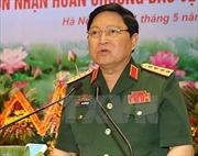 Đại tướng Ngô Xuân Lịch dự Lễ khai giảng của Học viện Lục quân