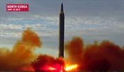 Triều Tiên 'khoe' video phóng tên lửa đạn đạo ngang qua Nhật Bản