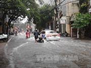 Hà Nội nhiều nơi mưa to, nguy cơ cao ngập úng