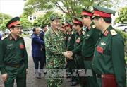 Chủ tịch nước Trần Đại Quang thăm, làm việc với Bộ Quốc phòng