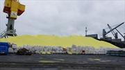 Bãi chứa hơn 3 vạn tấn lưu huỳnh tại Cảng Hoàng Diệu không vi phạm môi trường
