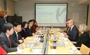 Phó Chủ tịch nước Đặng Thị Ngọc Thịnh tiếp bộ trưởng và lãnh đạo tập đoàn Phần Lan