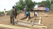 Cấp gạo hỗ trợ đồng bào Sơn La bị ảnh hưởng mưa lũ