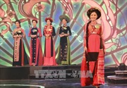 Nữ sinh trường Cao đẳng Du lịch Hà Nội đạt giải nhất cuộc thi Người đẹp xứ Trà năm 2017