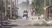 Xem quân đội Syria chiến đấu với khủng bố bên sông Euphrates