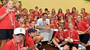 Federer - ông vua của Basel Open