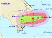 Sáng sớm 4/11, bão số 12 giật cấp 15 trên đất liền các tỉnh Phú Yên đến Bình Thuận