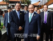 APEC 2017: Thủ tướng Nguyễn Xuân Phúc tiếp Thủ tướng Campuchia