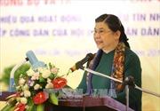 Phó Chủ tịch Thường trực Quốc hội Tòng Thị Phóng làm việc tại tỉnh Cao Bằng