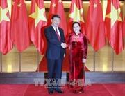 Chủ tịch Quốc hội Nguyễn Thị Kim Ngân hội kiến với Tổng Bí thư, Chủ tịch nước Trung Quốc Tập Cận Bình