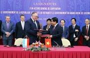 Việt Nam và Luxembourg ký kết Hiệp định khung hợp tác