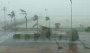 Mưa to gió lớn khiến cột thu phát sóng đổ đè sập nhà dân tại Bình Dương
