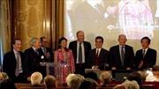 PGS.TS Nguyễn Ngọc Điện trở thành thành viên chính thức của Viện hàn lâm khoa học hải ngoại Pháp