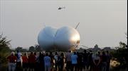 Máy bay lớn nhất thế giới rơi ở Anh