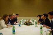Phó Thủ tướng Phạm Bình Minh gặp Bộ trưởng Ngoại giao Na Uy và Ireland