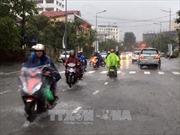 Không khí lạnh tăng cường gây mưa to khu vực các tỉnh từ Hà Tĩnh đến Bình Định