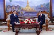Hai thủ đô Hà Nội và Vientiane tăng cường hợp tác
