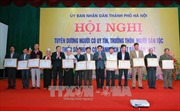 Hà Nội: Tuyên dương người có uy tín, trưởng thôn, người dân tộc thiểu số
