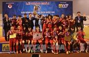 Đội Thành phố Hồ Chí Minh 1 vô địch Giải bóng đá nữ vô địch quốc gia