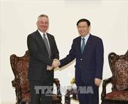 Phó Thủ tướng Vương Đình Huệ tiếp Phó Chủ tịch Ủy ban Thương mại quốc tế của Nghị viện châu Âu