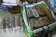 Phát hiện vận chuyển lậu 14.400 bao thuốc lá