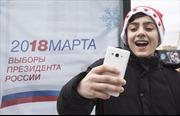 Bỏ phiếu bầu cử Tổng thống Nga 2018, trúng ngay iPhone iPad