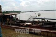 Khẩn trương điều tra hoạt động khai thác cát trái phép tại Hưng Yên