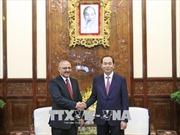 Chủ tịch nước Trần Đại Quang tiếp Đại sứ Ai Cập tại Việt Nam chào kết thúc nhiệm kỳ