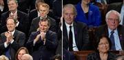 Xem clip sắc mặt thành viên hai đảng khi Tổng thống Trump đọc Thông điệp Liên bang