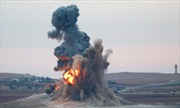 Liên quân không kích dồn dập các vị trí IS ở Iraq