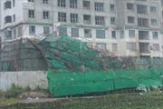 Cận cảnh vụ sập giàn giáo tại cao ốc 34 tầng ở Hà Nội