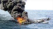 Chìm tàu Hàn Quốc, 3 thủy thủ Việt Nam được cứu sống